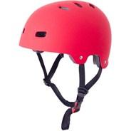 T35 Matt Red Delux Skate/BMX Helmet