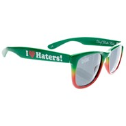 Haters Shades - Rasta Fade