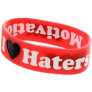 Haters Bracelet - Red