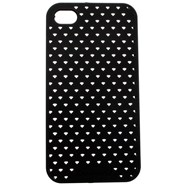 Perforated iPhone Case - Black