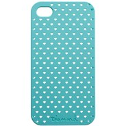 Perforated iPhone Case - Diamond Blue