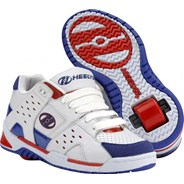 Sport White/Red/Blue Heely Shoe