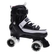 Miami Black/White Quad Roller Skates