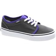106 Vulc (2 Tone) Charcoal/Liberty Kids Shoe KV37F0