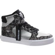 Vaider Silver/Snake Print Kids Shoe