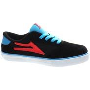Pico Kids Black/Flame Suede Shoe