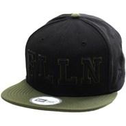 Forge New Era Snapback Cap - Black/Surplus Green