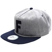 F-Stop 5 Panel New Era Cap - Heather Grey/Midnight Blue