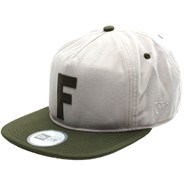 F-Stop 5 Panel New Era Cap - Dust/Surplus Green