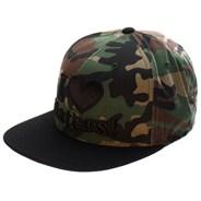 I Love Haters Snapback Cap - Camo/Black