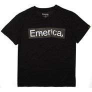 Pure Sticker Black Youth S/S T-Shirt