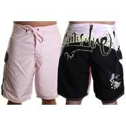 Clash City Boardshorts - Light Pink