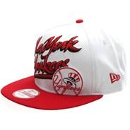 Slant Scribb Snapback Cap - NY Yankees