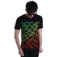 Headed Fade S/S T-Shirt - Black/Multi