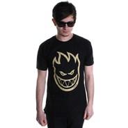 Bighead S/S T-Shirt - Black/Tan