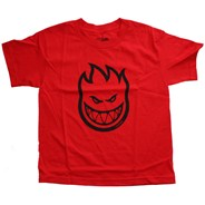 Bighead Youths S/S T-Shirt - Red/Black