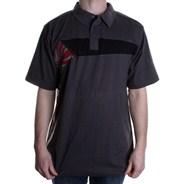 Butane S/S Polo Shirt - Charcoal
