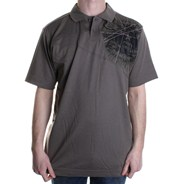 Dizzy S/S Polo Shirt - Taupe