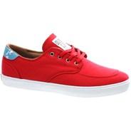 Belmont Red Canvas Shoe