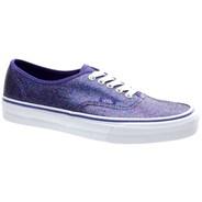 Authentic (Iridescent Glitter) Blue/True White Shoe TSV8ND