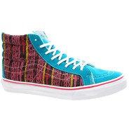 SK8 Hi Slim (Van Doren) Tile Blue/Tribal Desert Womens Shoe QG38XK