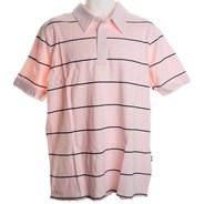 Fun Knit S/S Polo Shirt - Light Pink