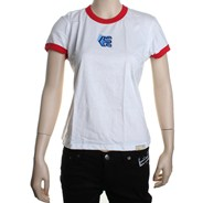Seventh Avenue Knit S/S Tee - White/Red