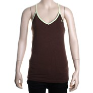 Tank Gal Knit Tank - Brown