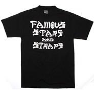 SK8 n Destroy S/S T-Shirt - Black