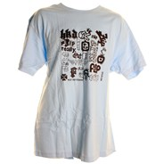 Combo Platter S/S T-Shirt - Sky Blue