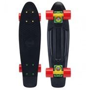 Complete 22inch OG Plastic Skateboard - Rasta