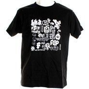 Combo Platter Youth S/S T-Shirt - Black