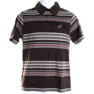 Distinctive S/S Polo Shirt - Brown