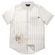 Oversight S/S Woven Shirt - White