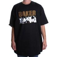 Team Damaged S/S T-Shirt - Black