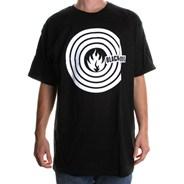 Circle Logo S/S T-Shirt - Black
