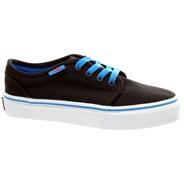 106 Vulc (Pop) Black/Brilliant Blue/Orange Kids Shoe KV38QX