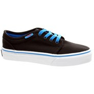 106 Vulc (Pop) Black/Brilliant Blue/Orange Kids Shoe KV38QX