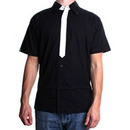Maniac S/S Shirt - Black