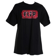 Painted Logo S/S T-Shirt - Black
