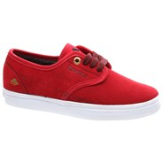Laced by Leo Romero Red/White Youths Shoe