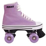 Chuck Lavender Kids Quad Roller Skates