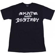 Skate & Destroy S/S T-Shirt - Black