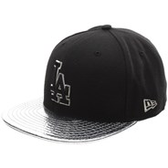 Metallic Slither LA Dodgers Fitted Cap