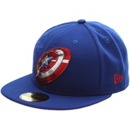 Action Fitted Captain America Fitted Cap
