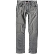 Straight Up Jeans - Light Grey