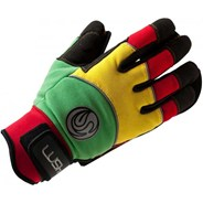 Freeride Longboard Slide Gloves - Rasta