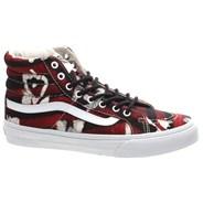 SK8 Hi Slim (Della) Batik/Red Shoe QG3AWF