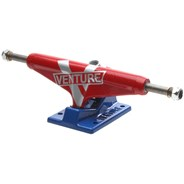 5.25 Low Marquee Super V Red/Blue Skateboard Trucks
