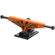 5.25 Low Wildstyle Stalk Orange/Black Skateboard Trucks